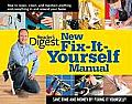 New Fix It Yourself Manual How to Repair Clean & Maintain Anything & Everything in andaround Your Home