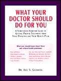 What Your Doctor Should Do For You A Sym