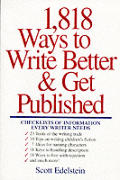1818 Ways To Write Better & Get Published