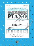 David Carr Glover Method for Piano Theory Level 1