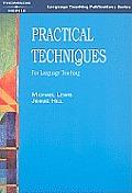 Practical Techniques For Language Teachi