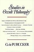 Studies in Occult Philosophy Studies in The Secret Doctrine & The Mahatma Letters