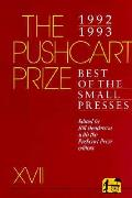 Pushcart Prize Xvii Best Of The Small