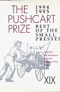 Pushcart Prize Best of Small Presses 1994 1995 Edition