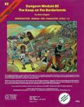 The Keep on the Borderlands: Dungeon Module B2: Dungeons And Dragons: D&D RPG: TSR 9034