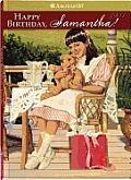 American Girl Samantha 04 Happy Birthday Samantha