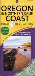 Oregon and Northern California Coast: Road and Recreation Map: 8th Edition