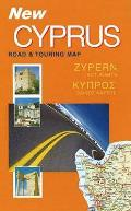 New Cyprus Road and Touring Map