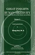 Great insights on human creativity transforming the way we live work educate lead & relate Volume 1