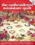 Embroidered Miniature Quilt