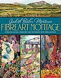Fibreart Montage Combining Quilting Embroidery & Photography with Embellishments