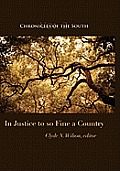 Chronicles of the South: In Justice to So Fine a Country