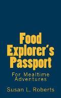 Food Explorer's Passport