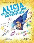 8x10Coloring Book Alicia Gets Ready