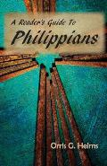 A Reader's Guide to Philippians