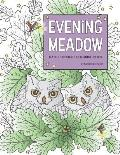 Evening Meadow Nature Designs Coloring Book