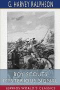 Boy Scouts Mysterious Signal (Esprios Classics)