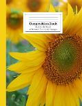 Composition Book Sunshine Sunflower Wide Ruled