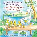 Te amo te abrazo leo contigo Love you Hug You Read to You
