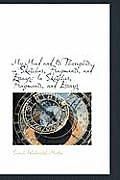 My Mind and Its Thoughts, in Sketches, Fragments, and Essays: In Sketches, Fragments, and Essays
