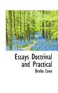 Essays Doctrinal and Practical