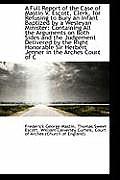 A Full Report of the Case of Mastin V. Escott, Clerk