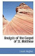 Analysis of the Gospel of St. Matthew