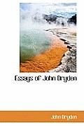 Essays of John Dryden