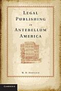 Legal Publishing in Antebellum America