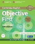 Objective First Student's Book Pack (Student's Book with Answers and Class Audio Cds(2)) [With CDROM]