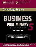 Cambridge English Business 5 Preliminary