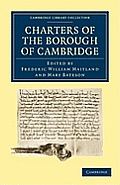 Charters of the Borough of Cambridge