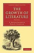 The Growth of Literature, Volume 1