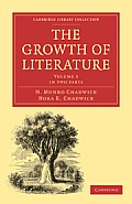 The Growth of Literature, Volume 3