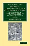 The Works, Literary, Moral, and Medical, of Thomas Percival, M.D.: Volume 1: To Which Are Prefixed, Memoirs of His Life and Writings, and a Selection