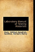 Laboratory Manual of Testing Materials