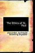The Ethics of St. Paul