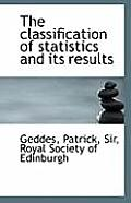 The Classification of Statistics and Its Results