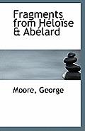 Fragments from Heloise & Abelard