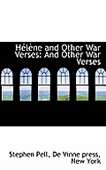 H L Ne and Other War Verses: And Other War Verses