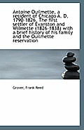 Antoine Ouilmette, Va Resident of Chicago A. D. 1790-1826