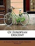 Of European Descent