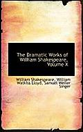 The Dramatic Works of William Shakespeare, Volume X