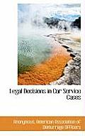 Legal Decisions in Car Service Cases