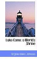 Lake Como: A World's Shrine