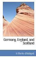 Germany, England, and Scotland