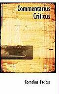 Commentarius Criticus
