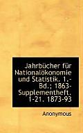 Jahrbucher Fur Nationalokonomie Und Statistik. 1.- Bd.; 1863- Supplementheft. 1-21. 1873-93