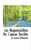 Les Responsabilit?'s de L'Ann E Terrible