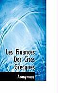 Les Finances Des Cit?'s Grecques